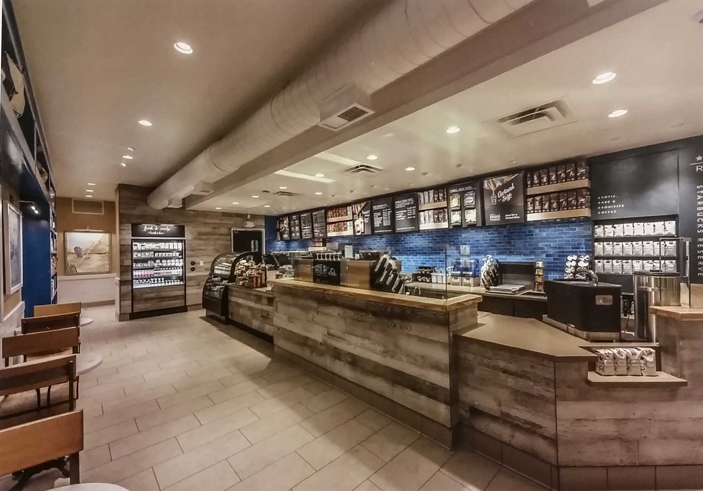 Starbucks southampton wfc architects